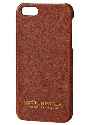 Оригинальный чехол для iphone se/5s от бренда scotch&soda разм. one size