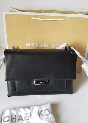 Черная сумка cece chain shoulder bag