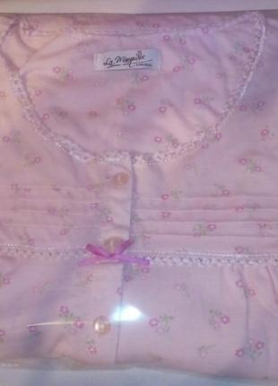 Ночная рубашка la marquise lingerie наш р.52-54 см. замеры и описание