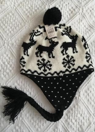 Чудова трендова зимова шапка
