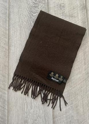 Barbour шарф оригинал 100% шерсть