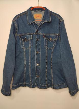 Levis стрейчевая джинсовая куртка, пиджак, джинсовка