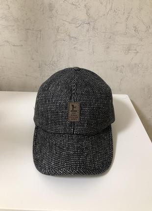Утепленная мужская кепка