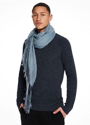 Оригинальный шарф-платок от бренда scotch&soda разм. one size