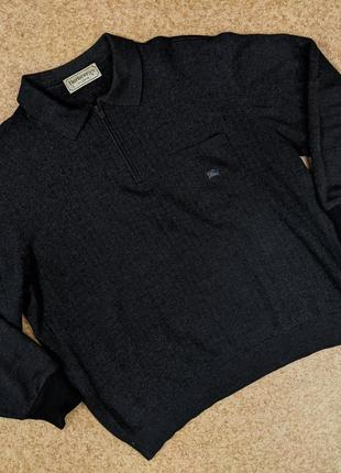 Винтажный свитер кофта burberrys