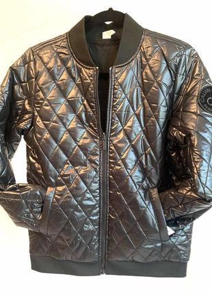 Куртка бомбер двухсторонняя calvin klein (оригинал) из сша.