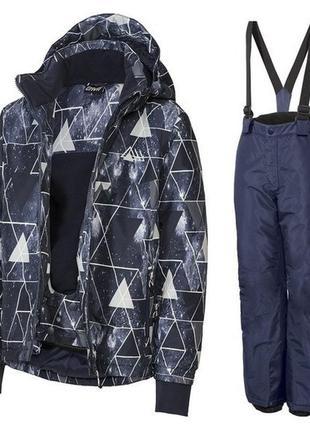 Комплект комбинезон crivit pro германия 146-152 термо куртка штани