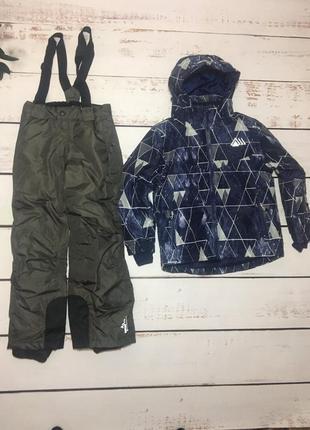 Комплект комбинезон crivit германия термо куртка штани 122-128