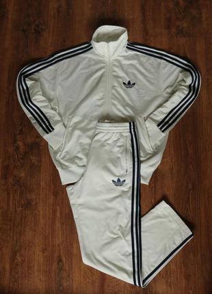 Мужской спортивный костюм adidas originals adi firebird mens tracksuit full jacket