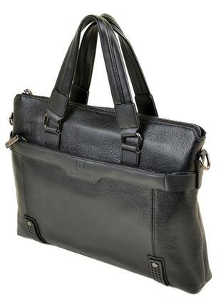Мужской кожаный портфель bretton