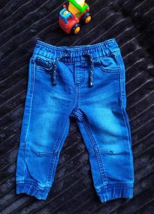 Джинсовые штаны на рост 80 см