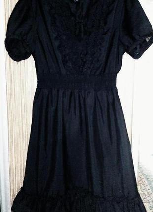 Красивое,легкое платье h&m