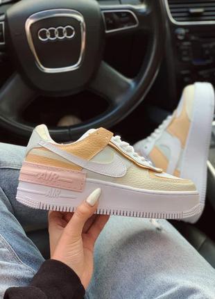 Nike air force shadow 1 low шикарные женские кроссовки найк еир форс