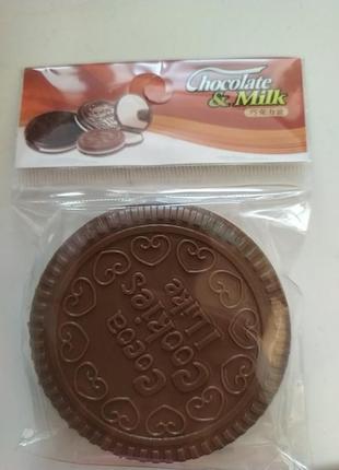 Зеркало карманное в виде печенье