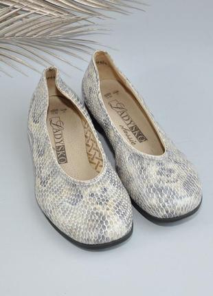 Кожаные туфли на широкую ногу 38р 24,5см много обуви на страничке