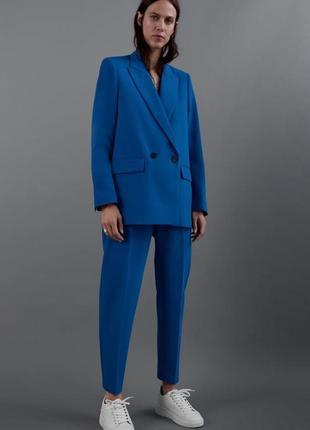 Костюмные брюки со стрелками чинос штаны zara