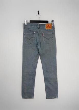 Levi's 511 сірі еластанові slim fit джинси від улюбленого бренду.