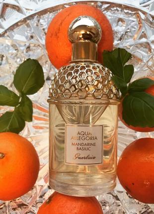 Guerlain aqua allegoria mandarine basilic 75 ml. герлен аква аллегория мандарин базилик