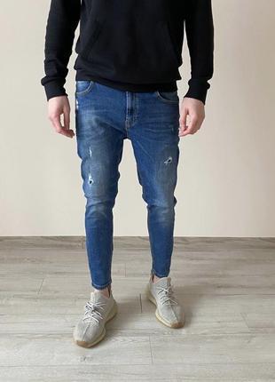 Зауженые джинсы zara