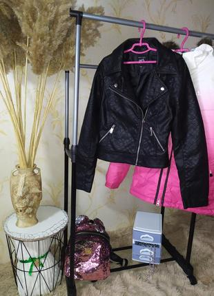 12-13 лет куртка кожанка косуха new look