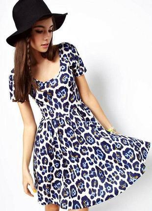 Шикарное яркое платье asos
