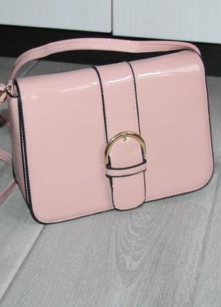 Лаковая стильная сумочка. супер цена!