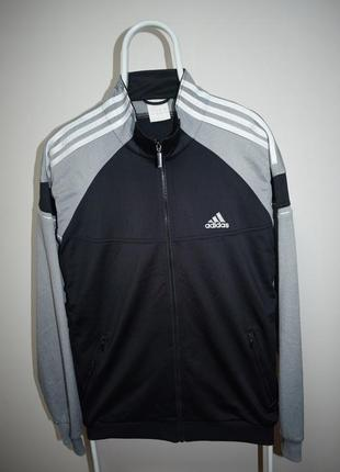 Олимпийка кофта adidas большое лого на спине винтаж