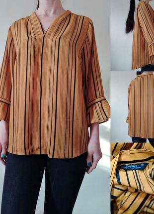 Легкая блуза в полоску
