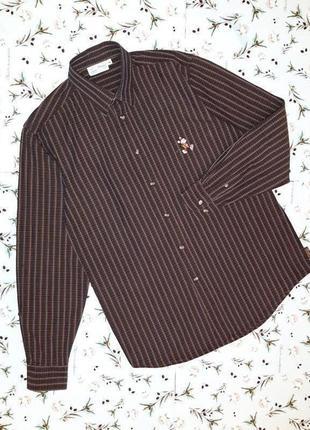 🎁1+1=3 крутая темная рубашка в клетку с микки-маусом disney, размер 44 - 46