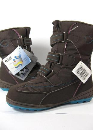 Детские сапоги ботинки s-tex membrane германия. 30,31,32,33,34р.