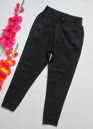 Шикарные фирменные трикотажные брюки джоггеры с манжетами adidas оригинал**