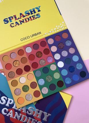Палетка теней для век candies (54 цвета)