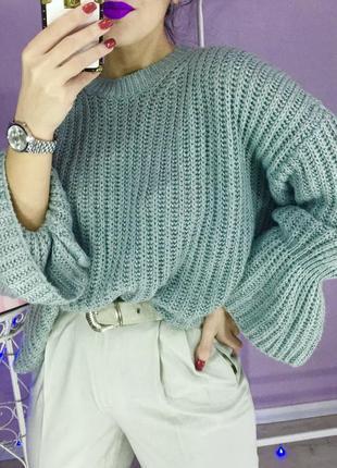 Оливковый свитер george