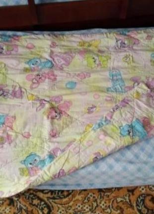 Детский комплект спальный/ одеяло подушка