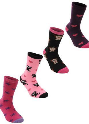 Miss fiori  носочки 4 шт. для девочек