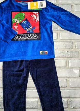 Пижамка велюровая disney/англия, лригинал, бирка