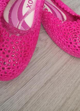 Турецкие силиконовые балетки, шлепки, кораллки, 40 размер