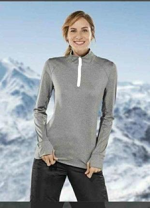 Новая crivit pro, функциональная спортивная лыжная термо кофта