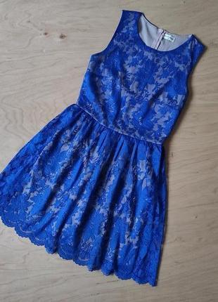 Вечернее кружевное  платье miss selfridge