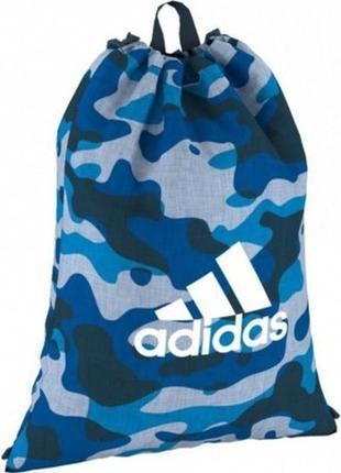 Спортивная сумка-мешок adidas camo gymbag