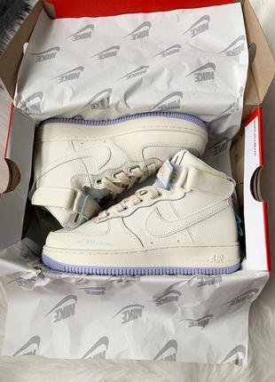 Nike af1 utility sportswear cream high
