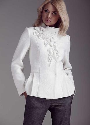 Пиджак из вяленой шерсти