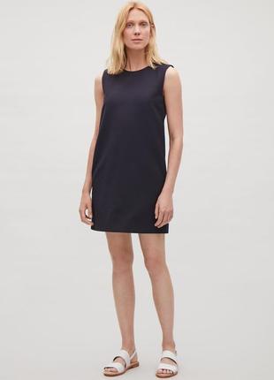 Платье - сарафан из платного хлопка cos