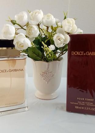 Dolce and gabbana pour femme дольче и габанна парфюмированная вода спрей духи женские