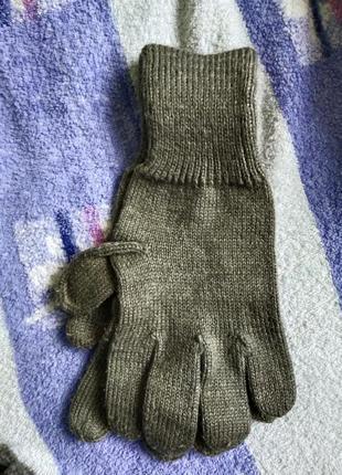 Перчатки шерстяные швейцарии