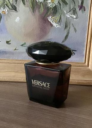 Versace crystal noir, парфюмированная вода