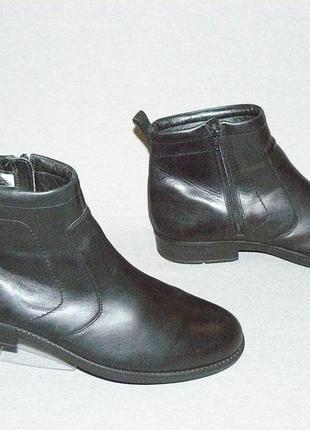 Ecco gore-tex кожаные утепленные ботинки оригинал! размер 44-45 29 см