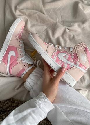 Тренд 2021!люкс женские nair jordan кроссовки,высокие кеды айр джордан,кросівки