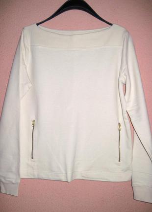 Пуловер трикотажный свободного кроя