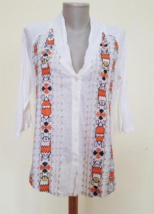 Оригинальная блузочка в этностиле с вышивкой